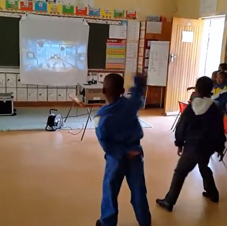 VIDEO:  2014.10.30.Grade 1 Temperance Town Primary Xbox Kinect