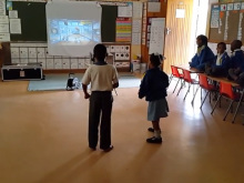 VIDEO:  2014.10.30.Grade 1 Temperance Town Primary