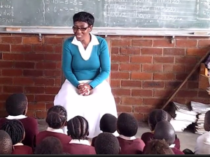 Video: Story telling by Duduzile Ngubane from Qhamukile Primary School