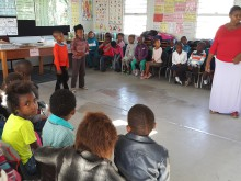 May 2015 Christmas Tinto Grade R Learners and Kinect